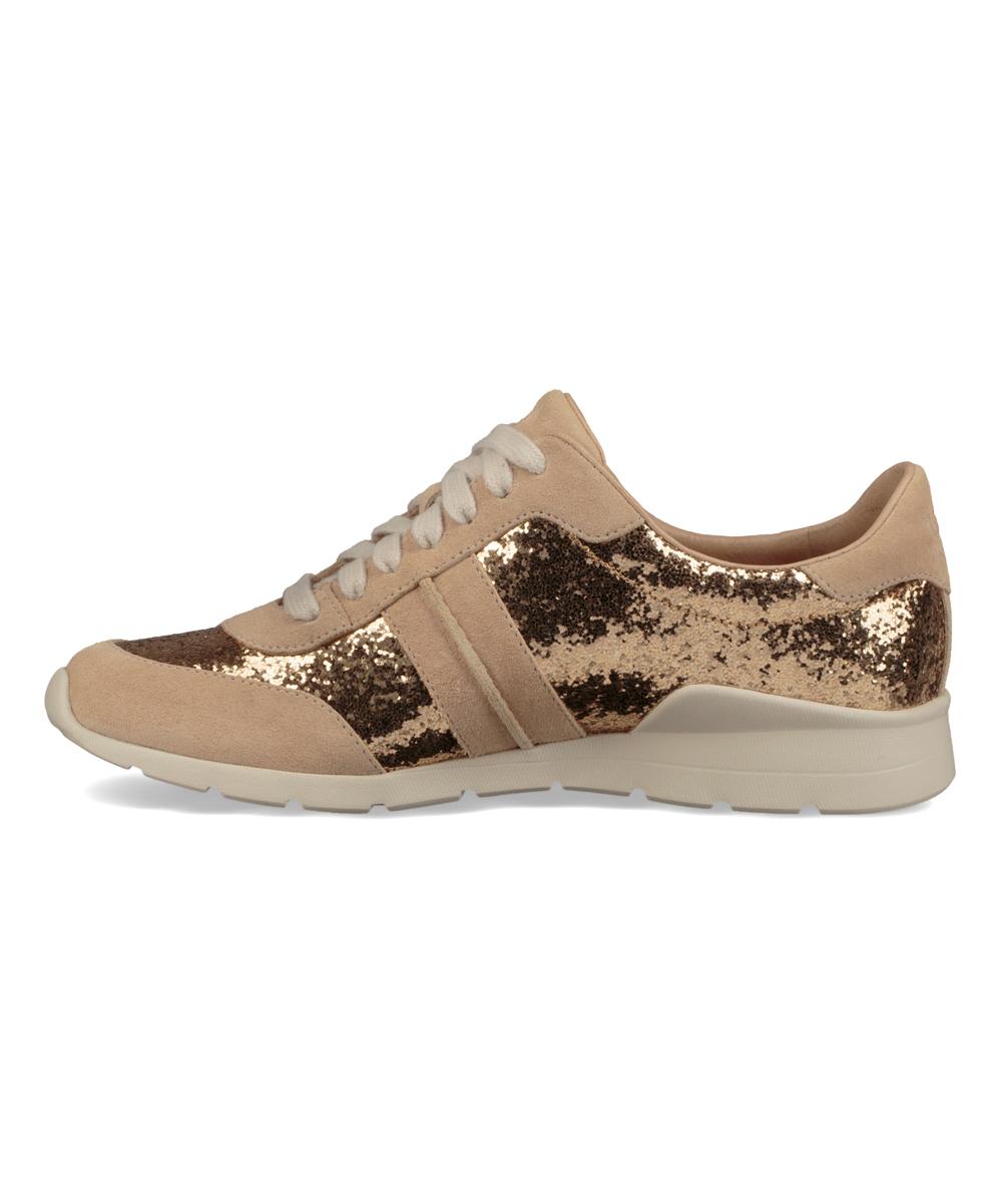 43e61a3a63e UGG® Gold Jaida Glitter Suede Sneaker - Women