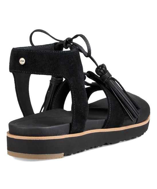 8736de54df5 UGG® Black Maryssa Leather Sandal - Women