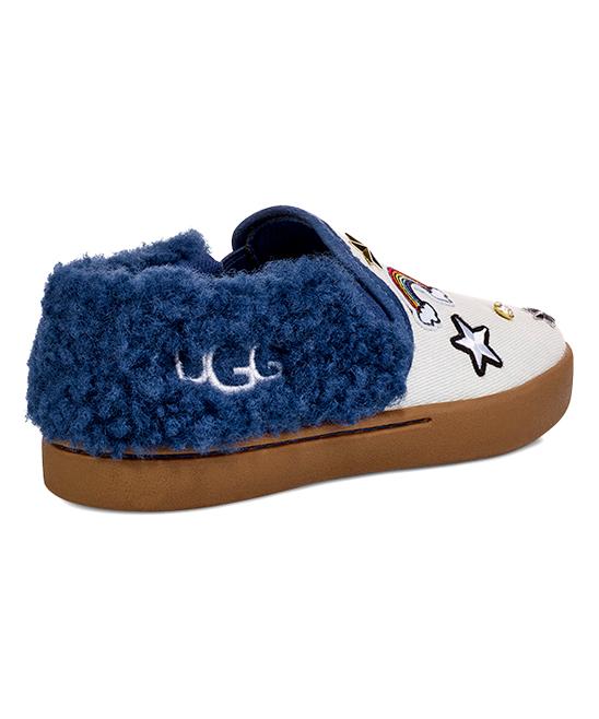 551d1acc0b5 UGG® Bleach Denim Patch It Slip-On Sneaker - Girls