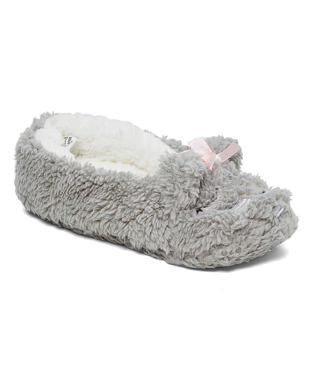 d555311fcafee dELiA*s Gray Koala Slipper Sock - Kids