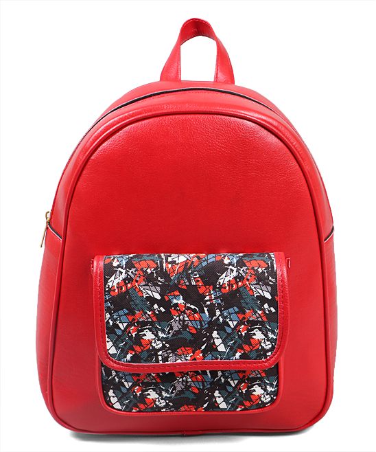 376f372fe Ventiquattro Red Glassy Kid Backpack - Women | Zulily
