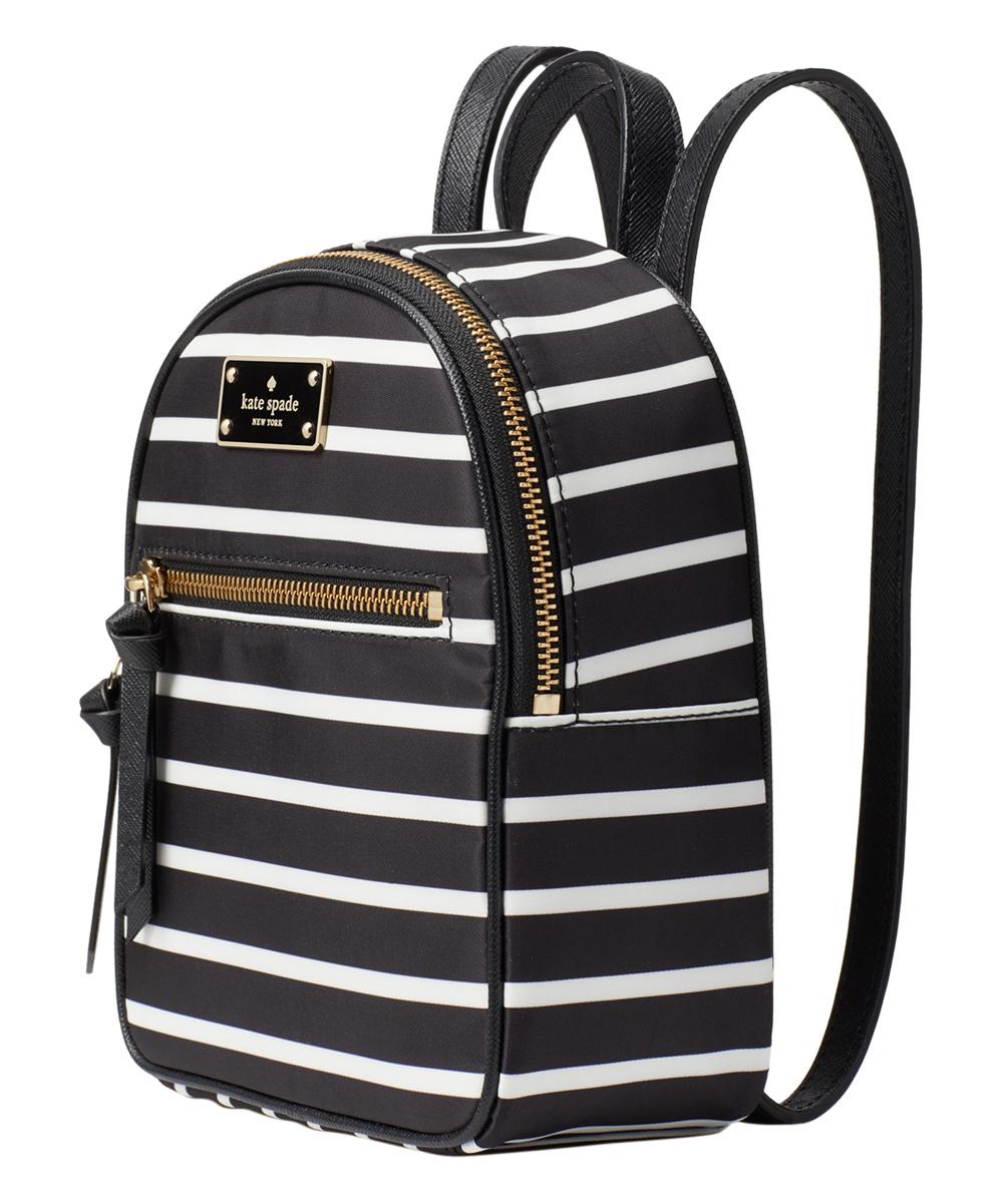 89f38eec9835 ... Womens Black Multi Black   White Wilson Road French Stripe Mini Bradley  Backpack - Alternate Image ...