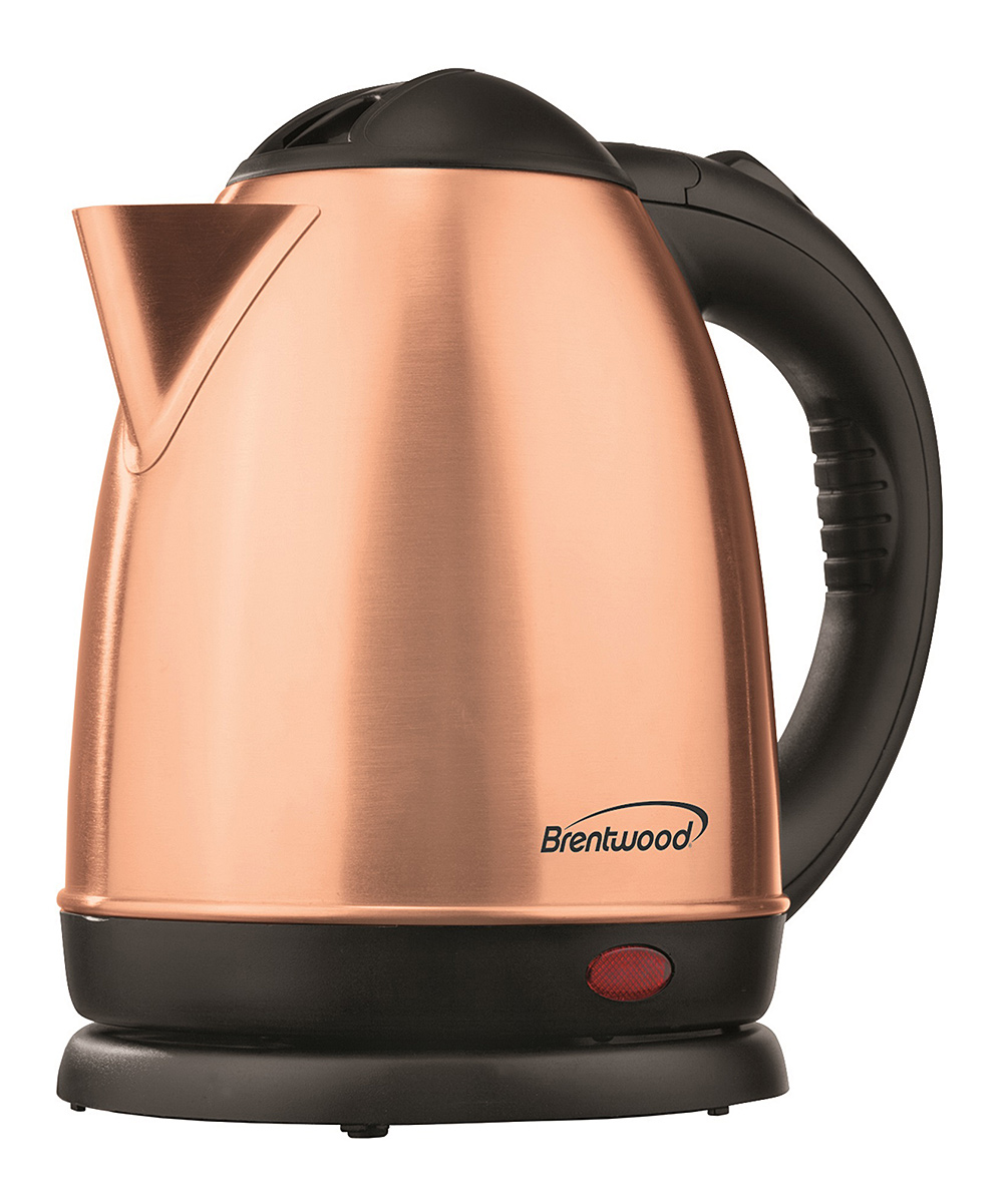 Brentwood Appliances  Electric Kettles Rose - Rose Gold KT-1780 1.58-Qt. Stainless Steel Electric Kettle