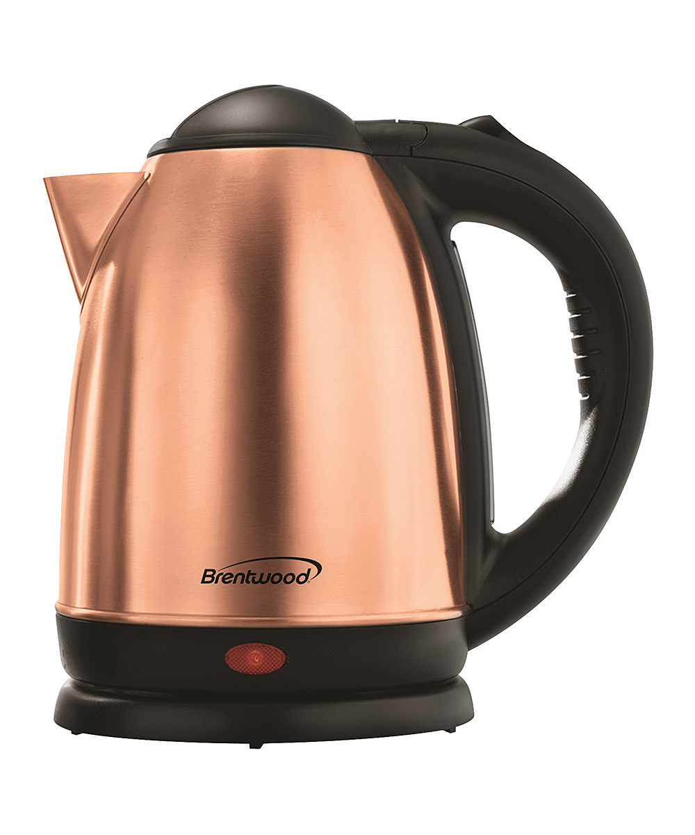 Brentwood Appliances  Electric Kettles Rose - Rose Gold KT-1790 1.8-Qt. Stainless Steel Electric Kettle