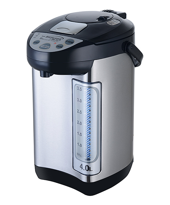 Brentwood Appliances  Miscellaneous Kitchen Tools Black - Stainless Steel KT-40BS 4.2-Qt. Electric Hot Water Dispenser