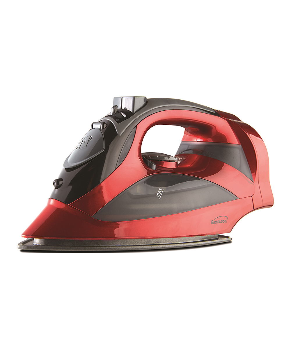 Brentwood Appliances  Clothing Steamers Red - Red MPI-59R Nonstick Steam Iron