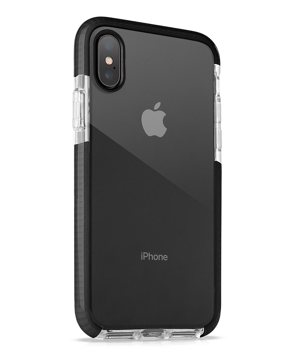Black Air Cushion Super Hybrid Slim Phone Case for iPhone 7/8, 7/8 Plus & X
