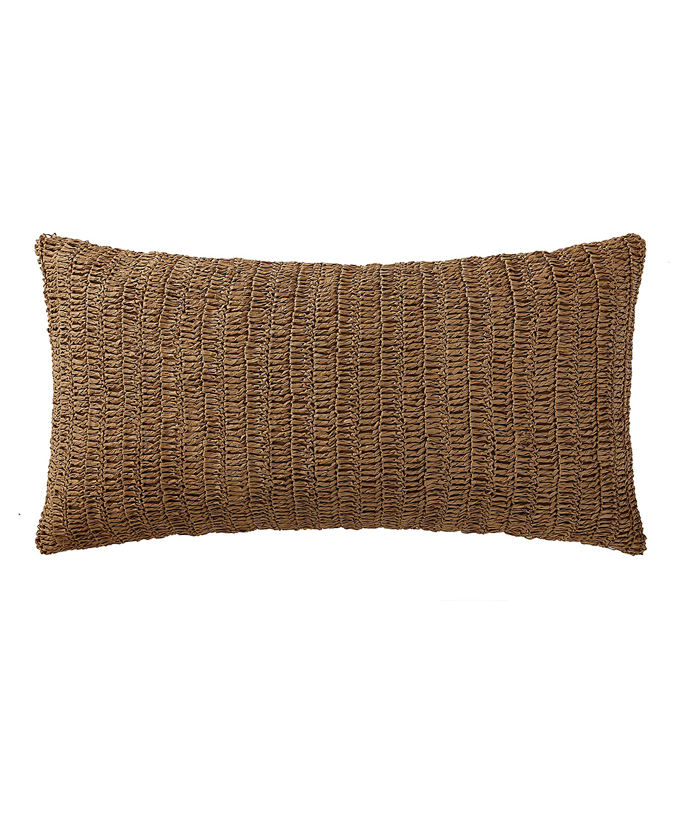 Pem America Tan Indienne Paisley Throw Pillow  5249406a76