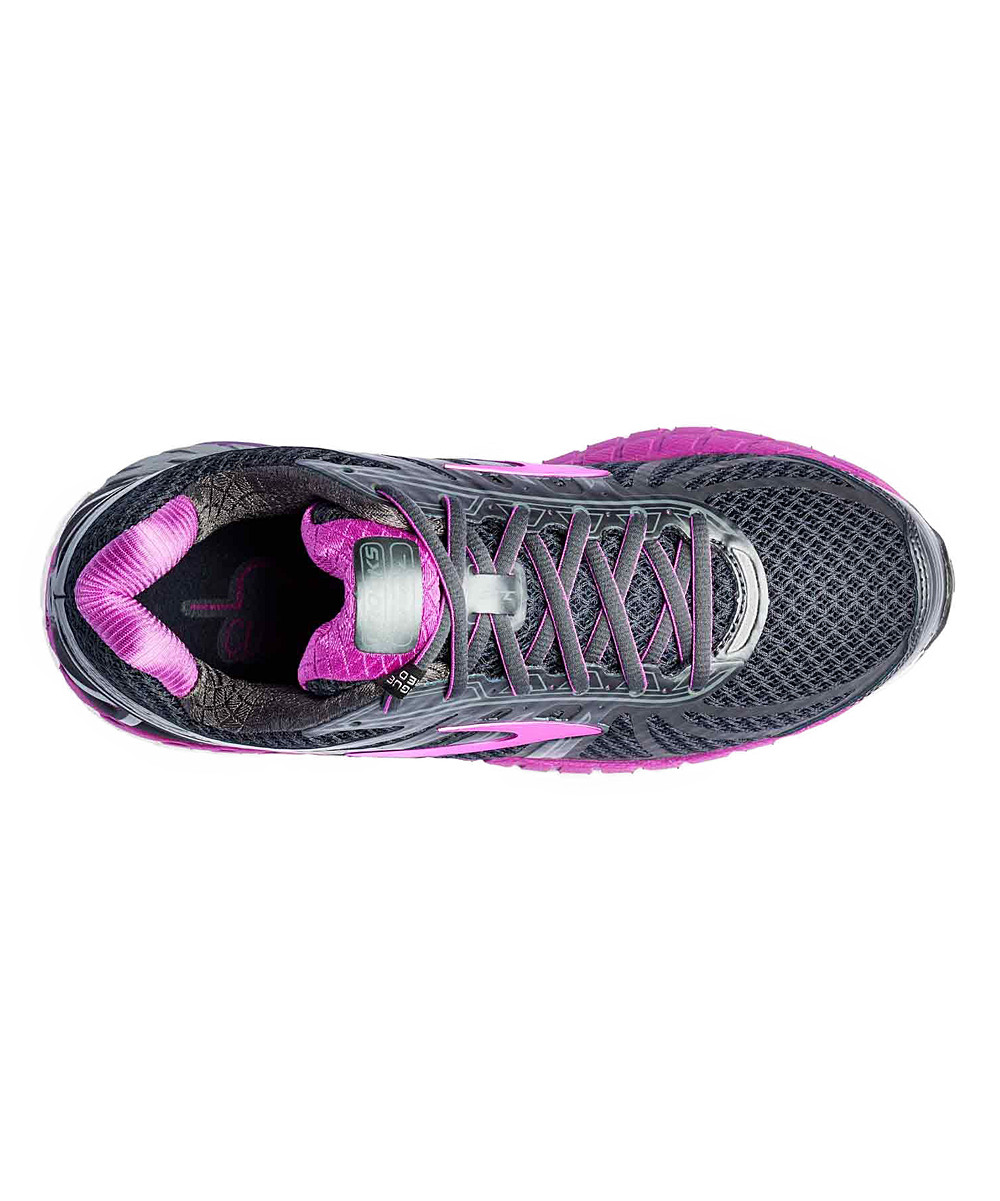 d56839637e0f1 ... Womens Anthracite   Purple Cactus Flower Ariel  16 Running Shoe -  Alternate ...