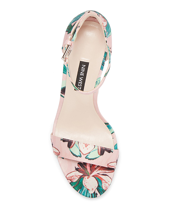 6a931ed607d ... Womens PINK MU FB Pink Floral Dempsey Sandal - Alternate Image 2 ...