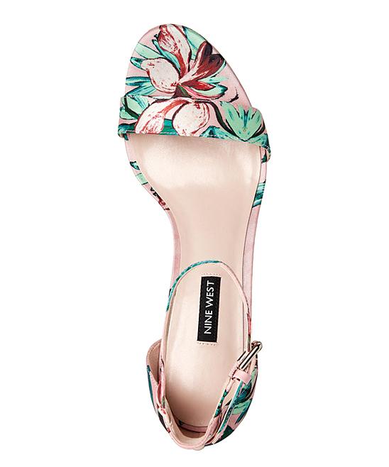 b7747965ecc ... Womens PINK MU FB Pink Floral Dempsey Sandal - Alternate Image 5