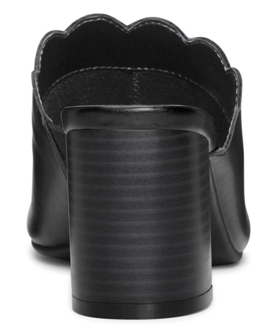 7868feec1482 ... Womens BLACK Black Guideline Block Heel Sandal - Alternate Image 4 ...