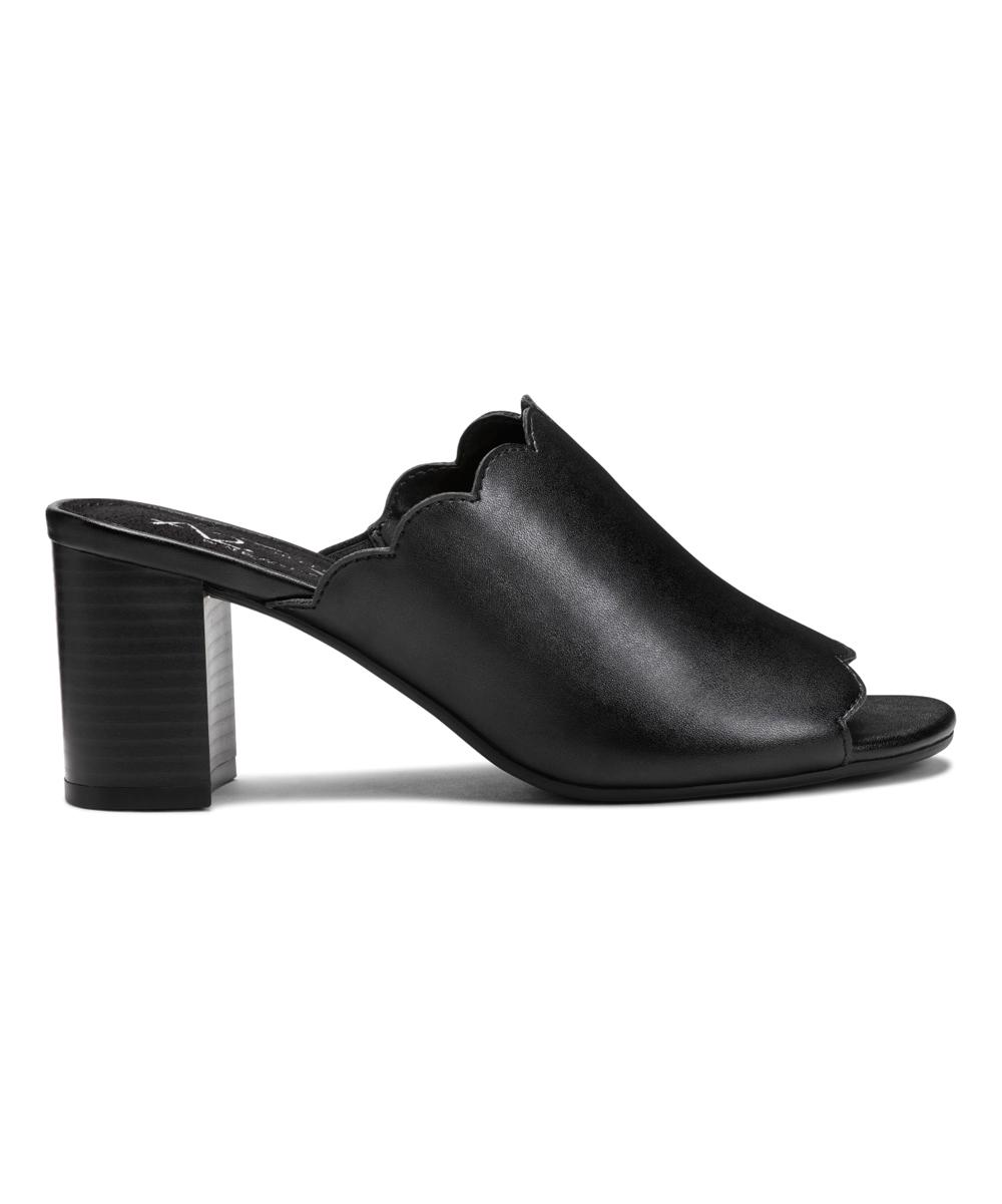 5096a056cab1 ... Womens BLACK Black Guideline Block Heel Sandal - Alternate Image 2 ...