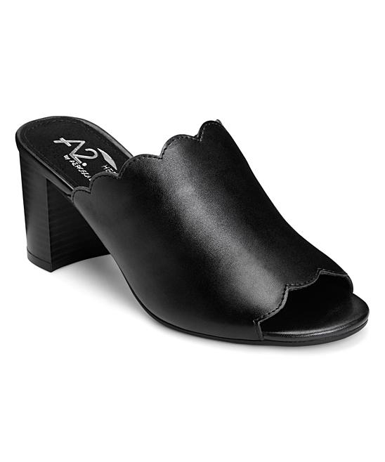 c05e2e149dfc A2 by Aerosoles Black Guideline Block Heel Sandal - Women