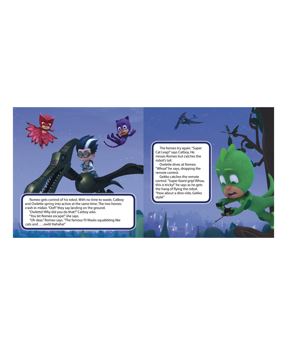 Simon & Schuster PJ Masks and the Dinosaur! Board Book