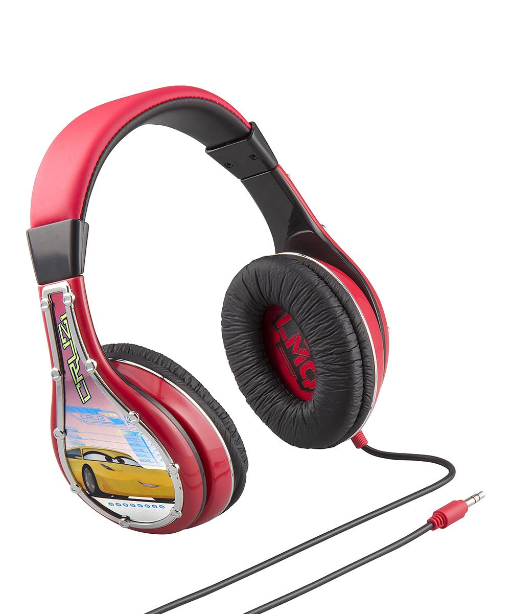 Pixar Boys' Wired Headphones  - Cars Youth Over-Ear Headphones