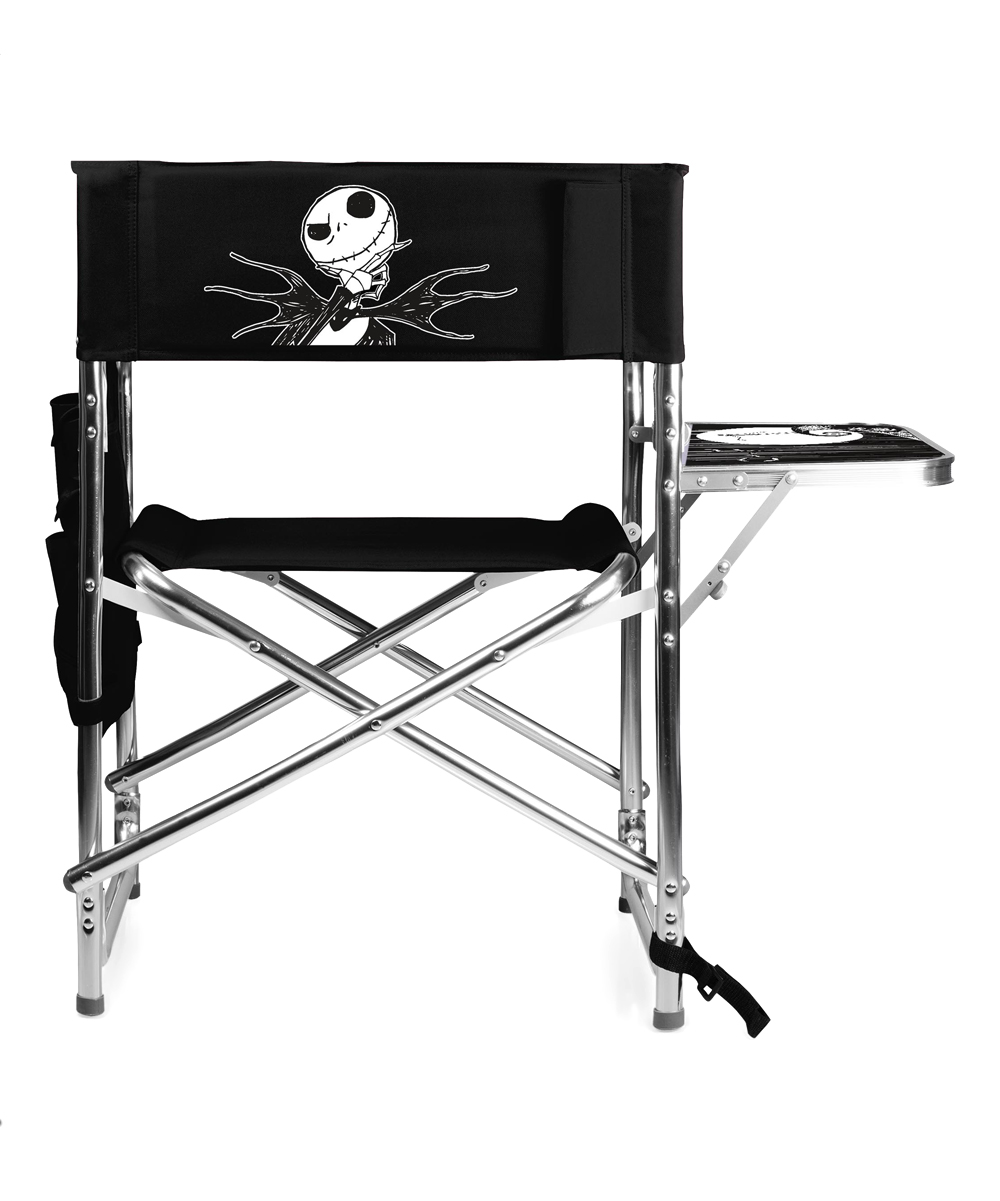The Nightmare Before Christmas Black Jack Folding Chair