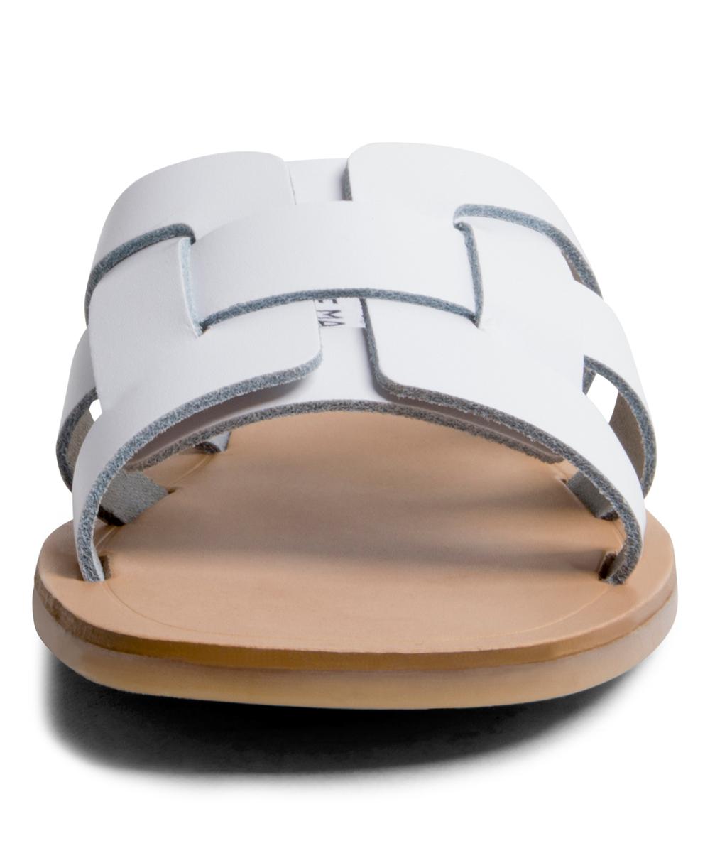 c1de7be09b5 Steve Madden White Sicily Leather Sandal - Women
