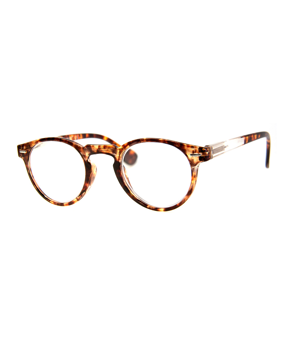 A.J. Morgan Women's Reading Glasses TORTOISE - Tortoise Ovaltime Readers