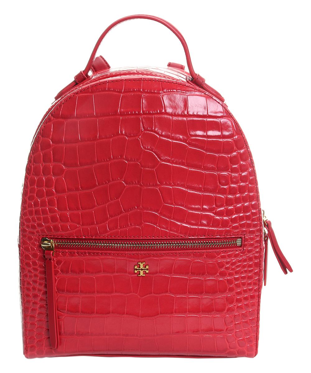e63092698c01 Tory Burch Kir Royale Croc-Embossed Leather Mini Backpack