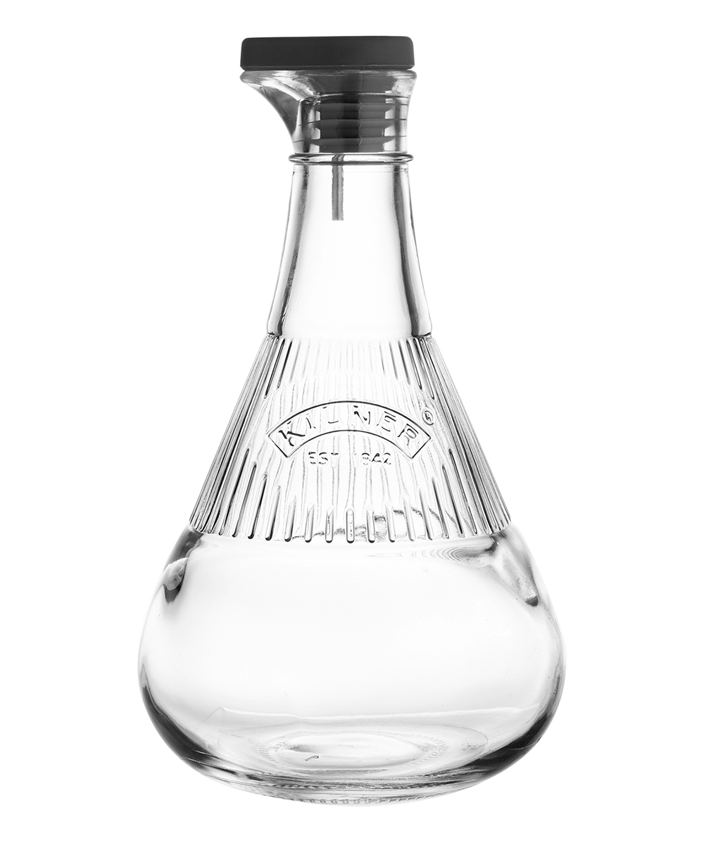 Kilner  Oil & Vinegar Cruets  - 17-Oz. Glass Pouring Bottle