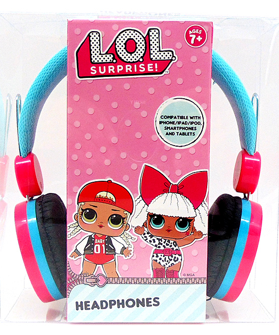 Wonderland Toys  Wired Headphones  - L.O.L. Surprise Headphones