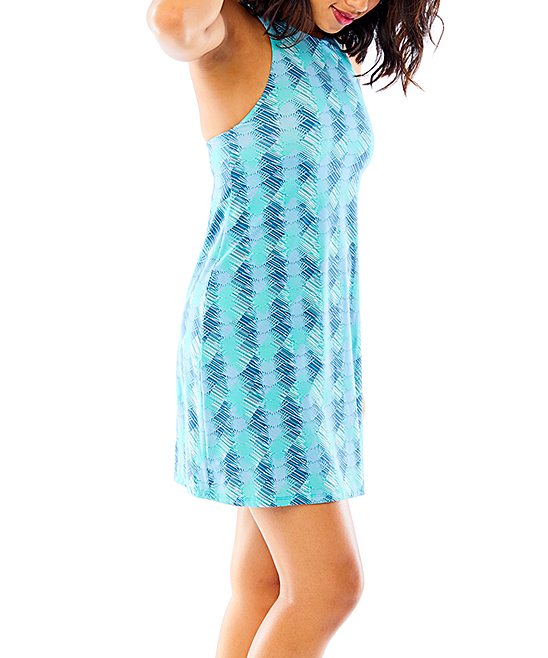 1970bf425fcf3 ... Womens Agave Agave Abstract Sanitas Swim Dress - Alternate Image 2