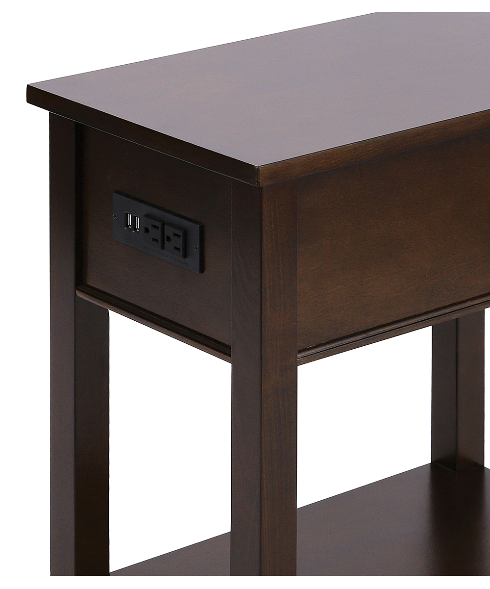 Womens Dark Cherry Bronze Hardware Reaburn Side Table Alternate Image 4