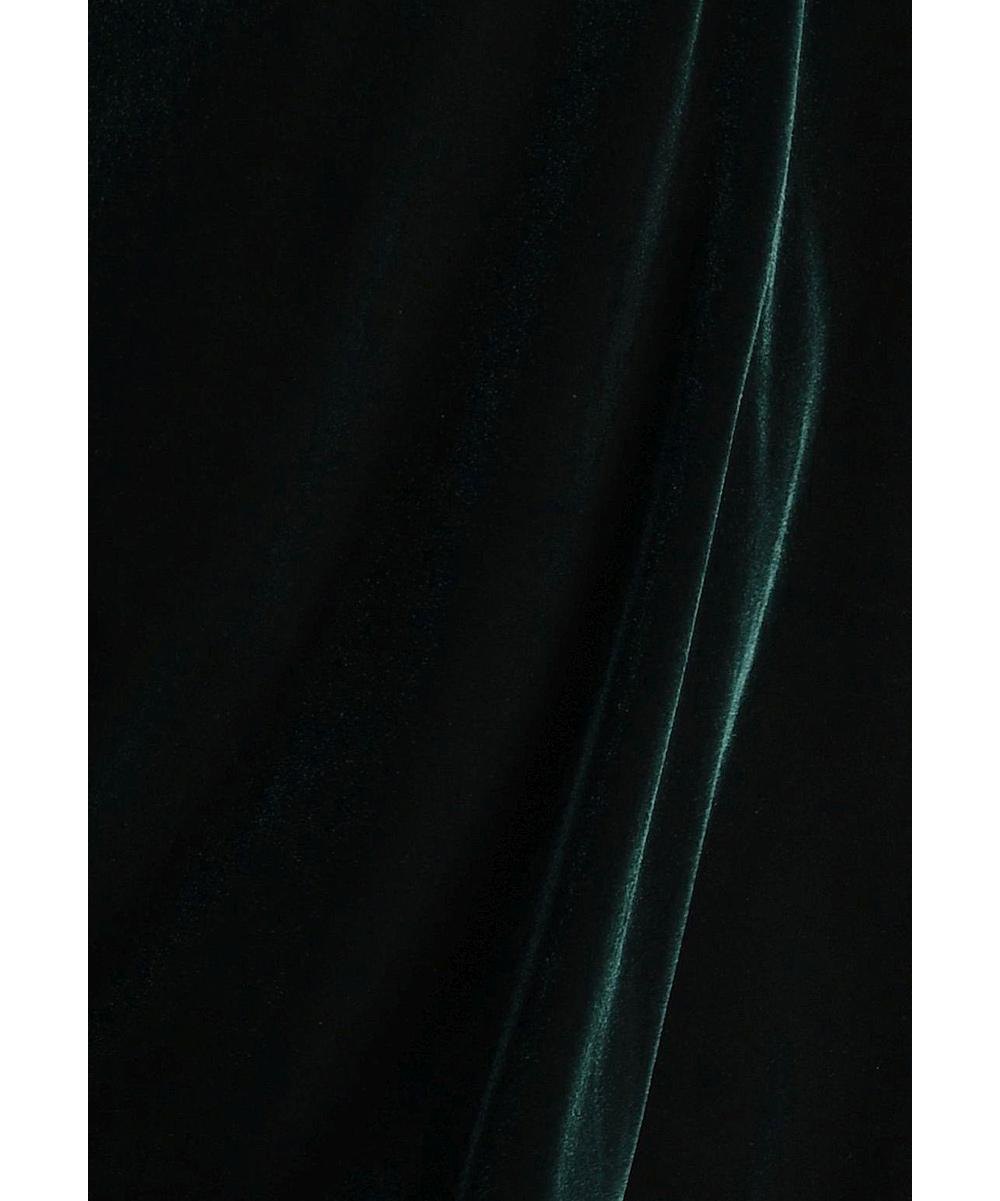 fa22463874c53 ... Womens Green Green Velvet Leggings - Alternate Image 5