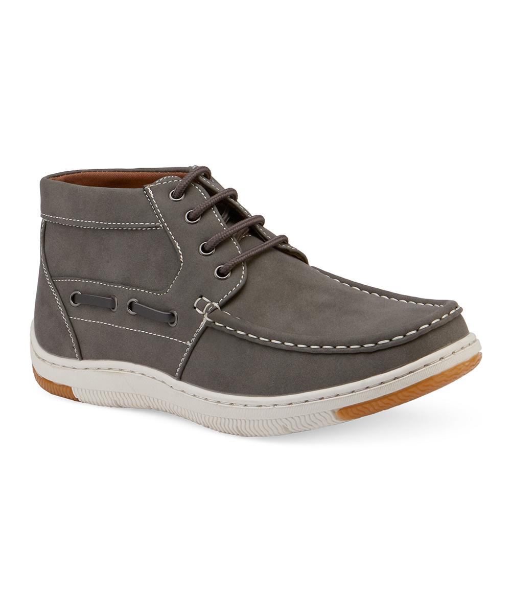 XRAY Men's Sneakers CHARCOAL - Charcoal Api High-Top Boat Shoe - Men