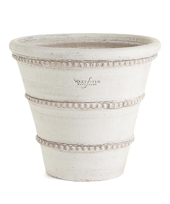 Napa Home & Garden  Outdoor Planters WHITE - White Oldham Pot