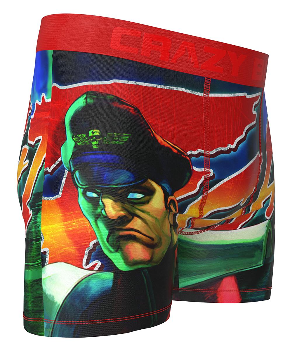 773dce547b ... Mens ASSORTED Red Bison Street Fighter Boxer Briefs - Alternate Image 5
