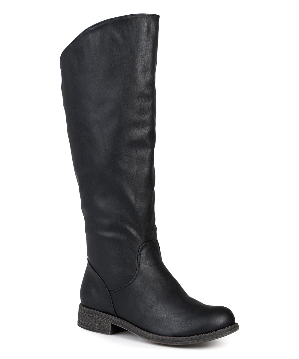 51de4fe1cb38 Bella Cora Black Lawren Wide-Calf Boot - Women