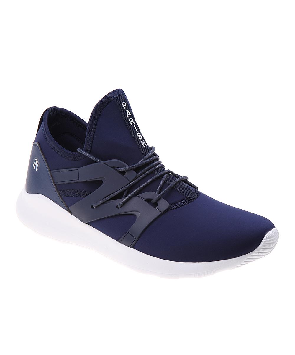 Parish Nation Men's Sneakers Navy - Navy  Contrast Slip-On Sneaker - Men