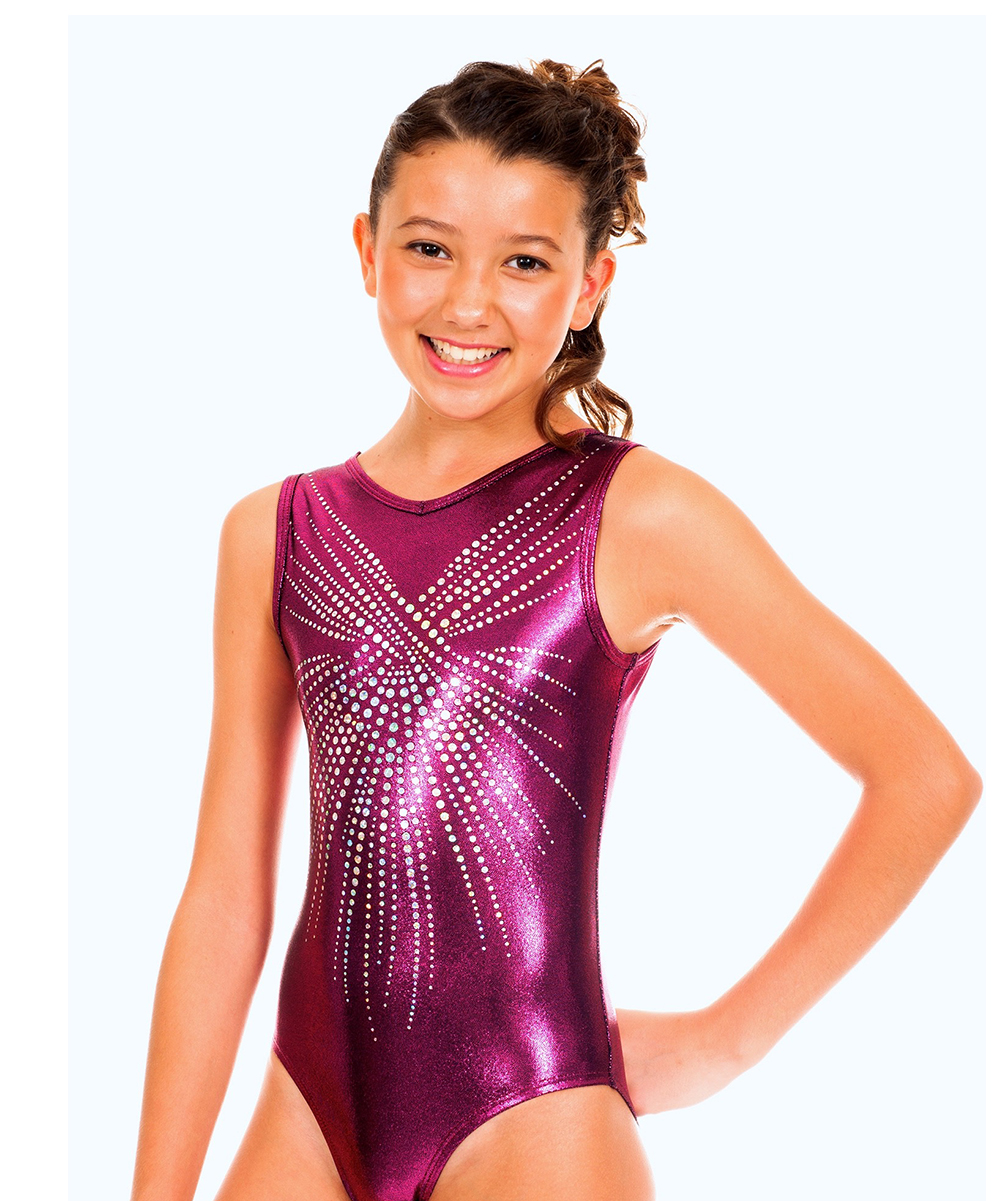 6c028bc678a5 Red Leotard Girl