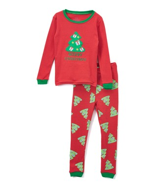 Toddler Girl Size 2T Green Red Ruffle Christmas Tree Cute Outfit Striped Pants