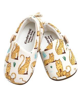 d32c4d7b1080 Yellow   White Savannah Cat Booties - Kids