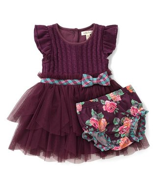 Purple Picture Book Dress   Diaper Cover - Infant 5a94c07e2
