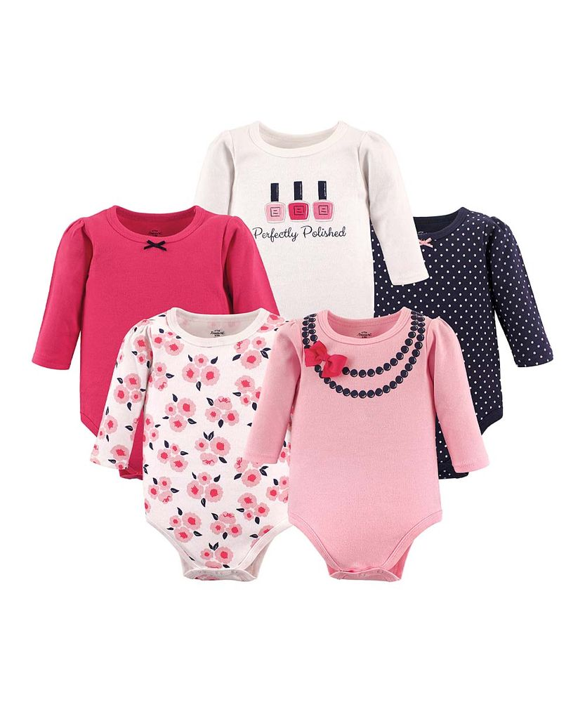 Bow Necklace Long-Sleeve Bodysuit Set - Newborn   Infant 9c75db260