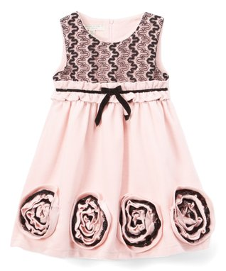 40a975b62 Red Flowers Dress - Girls. see more. Little Looks for Less
