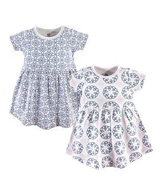 8117f64e2 Blue Whimsical Dress Set - Newborn, Infant, Toddler & Girls