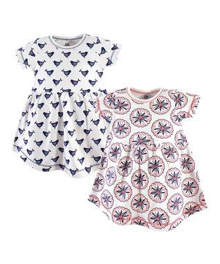 34c2163d Blue Bloom Dress Set - Newborn, Infant, Toddler & Girls