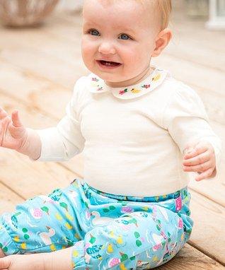 b263f39828d Green Duck   Pink Two-Pack Pants Set - Newborn