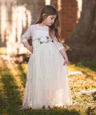 6291fbec899 Ivory Bella Rafaela Gown - Toddler   Girls