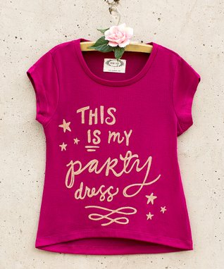 73bb3aecb6 Berry  This Is My Party Dress  Tee - Toddler   Girls