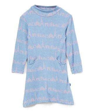 03b2c865d150 Parisian Skyline Mock Neck A-Line Dress - Infant & Toddler