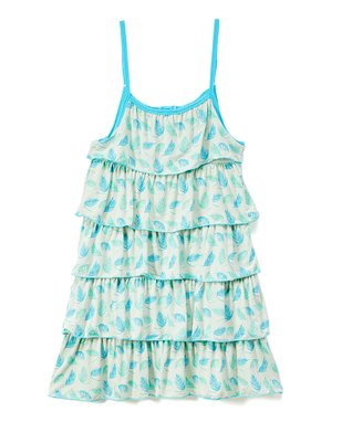 dbd497d86 Palm Frond Tiered Ruffle Sleeveless Dress - Infant, Toddler & Girls