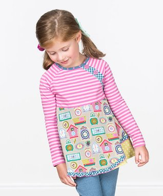 Pink Stripe In Disguise Top - Toddler   Girls a632ecce9