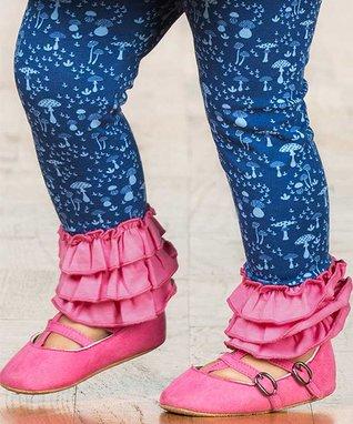 fd26f645f32 Blue   Pink Umbrella In My Element Leggings - Infant