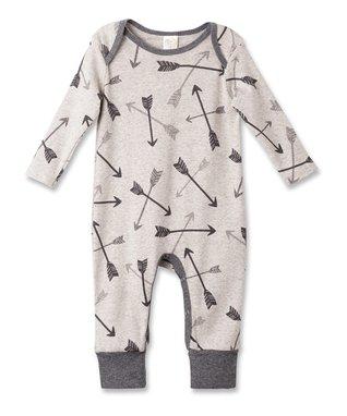 5dc99b612 Oatmeal & Charcoal Arrows Romper - Newborn & Infant